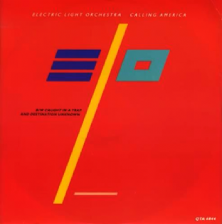 "Electric Light Orchestra - Calling America (12"") (VG+/VG)"